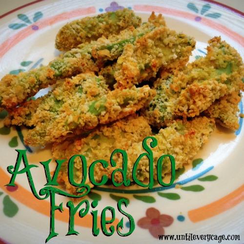 avocado fries text