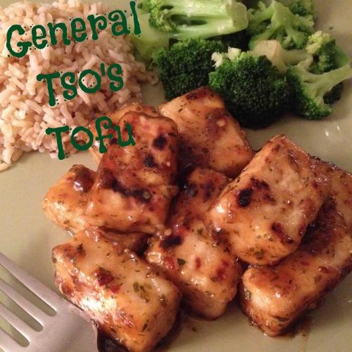 general tsos tofu text